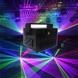 Animation-Laserlicht des Nachtclub-Erscheinen-Systems-Projektor-5W RGB