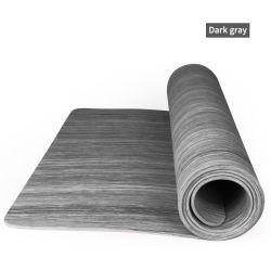 Kundenspezifische Yoga-Luxuxmatten-verbreitern hölzernes Korn-Musterpoe-langlebiges Gut Aufschriftbeleuchtung-neues Produktpoe-Eco Eignung-Matte verbreitern das 68cm Yoga-Matte