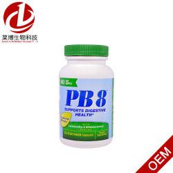 Pb8 com Lactobacillus e Bifidobacterium Fórmula Dieta vegetariana Veggie cápsulas