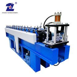 Ajustable de Aluminio Metal perforado de acero galvanizado de hoja de acero al carbono de la bandeja de cable de línea de producción de laminación en frío rollo/hacer máquina de formación