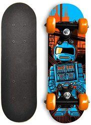 Los juguetes kids doble cóncavo de patada de Pensión Completa Mini Skateboard