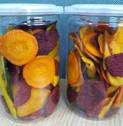 Snacks de frutas y hortalizas de alta calidad