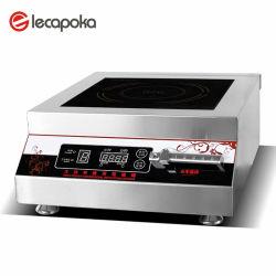 Cuisinières à induction Commerciale 5000W Cuisinière électromagnétiques puissantes de la Soupe Restaurant