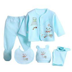 [فكتوري بريس] طفلة ثبت ملابس [5بكس] في 1 محدّد ليّنة قطر حديث ولادة طفلة هبة مجموعة