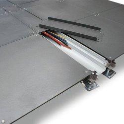 케이블 관리 액세스 바닥재 시스템