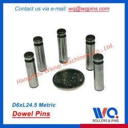 1つの端の溝とのまっすぐな平行合せ釘Pin