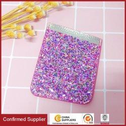 Glitter Sticker Kartenhalter PU Telefontaschen Telefonkartenhalter Mobiles Zubehör