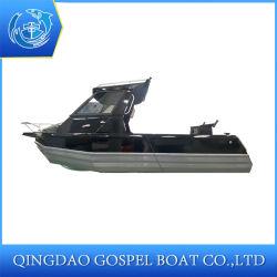 6.5m geschweißtes fischendes Aluminiumgeschwindigkeits-Boot für Verkauf