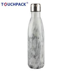 Isolation sous vide en acier inoxydable bouteille d'eau à double paroi Leak-Proof Cola bouteille forme conserve des boissons chaudes et froides