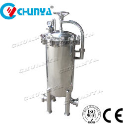China-Edelstahl-Filtergehäuse RO-Wasserbehandlung-Systems-Edelstahl 304 316L für industriellen flüssigen Schmierölfilter