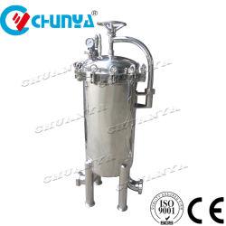 China-Edelstahl-Wasser-Filtergehäuse RO-Wasserbehandlung-Systems-Edelstahl 304 316L für industriellen flüssigen Schmierölfilter
