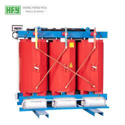 Comercio al por mayor de alta calidad y barata Scb11-80010kv All-Copper kVA trifásico de bobinado de resina de fundición de transformador de potencia, certificado CE, certificado CCC