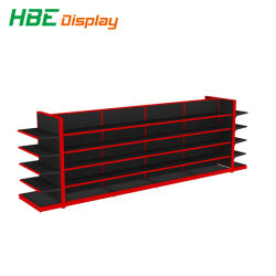 Double-Side Display Rack Supermarkt Shelf Gondola Shelving