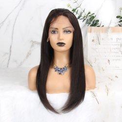 Parrucche dei capelli umani per i capelli umani fatti a macchina della parrucca 100% di densità brasiliana dei capelli diritti 150% di Remy delle donne di colore 14 pollici