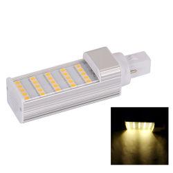 G24 2Контакт 5W 25X5050SMD 480lm 2800-3200k теплый белый свет светодиодные лампы лампы для кукурузы (AC85-265V)