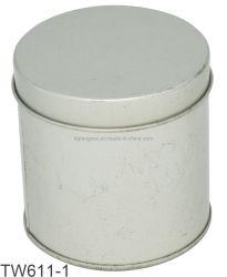 Commerce de gros vide scellé de thé de boîtes de conserves métallique rond