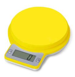小型デジタル細い正方形の高い感度の台所スケール