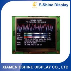 128X64 grafische FSTN PUNKT-Punktematrix LCD-Bildschirmanzeige Baugruppe für Satellitenbildschirmanzeige