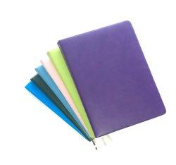 De uitstekende kwaliteit personaliseerde het Afgedrukte Boek van de Sluitnota van de Douane A5 Gestippelde Pu van het Leer van het Embleem