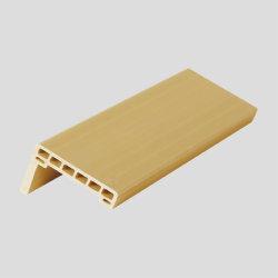 Umweltfreundliches hölzernes Plastikzusammensetzung5.8mm Architrave-Tür-Profil (MT-6022)