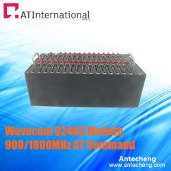 32チャネルUSB GPRSの変復調装置のプールWavecom Q2403 900/1800MHz
