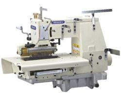 ماكينة خياطة سلسلة مزدوجة من السناج Sk1433p المسطحة