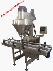 Double Lines 2 Fillers Automatic Powder Packing Machine 10-2000g