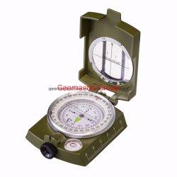 DC60-2A/6400 Geomaster Lensatic Compass/карман Компас/Militarycompass/Российской компас с 360-град./6400 мил номера быстрого набора и Vibration-Damping жидкости