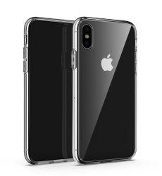 Couvercle Mobile de gros de haute qualité ultra-mince mince Sublimation TPU souple transparent de retour pour l'iPhone Smartphone étui pour téléphone portable