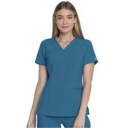 Conjunto de limpeza de enfermeiros logotipo personalizado Impressão ou bordados