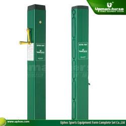 Cancha de tenis Post con manguito de Metro (TP-3000G)