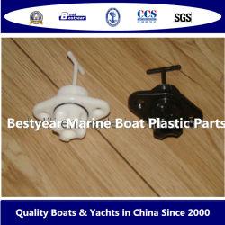 Het mariene deel-diamant-Gevormd/de rond-Gevormde Plastiek van de Boot Plastic Klep van het Afvoerkanaal van het Water