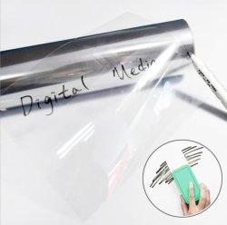 Самоклеющиеся сухой очистки совещания прозрачной доске ПЭТ-пленку для школьных дома