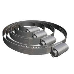 Abrazadera de acero inoxidable SAE J1508