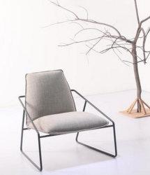 El arte de tela cátedra de ocio de una bolsa de semillas silla sofá simple (M-X3166)