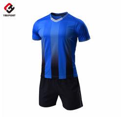 T-shirt de football d'impression de maillot de football de sublimation d'usure de sports faits sur commande