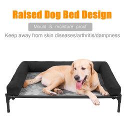 2020 Les nouveaux arrivants cadre métallique Pet lit bébé Lit en position relevée de chien de plein air / chien lit surélevé