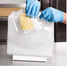"""Ht-0907 10 1/2 """" ghiottoneria Saddle Bag di X 8 """" Plastic con Seal Top 1000/Caso - Plain"""