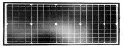 85W mono célula solar painel com moldura fina para casa a Energia Solar System