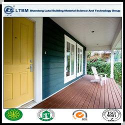 Du grain du bois de ciment de fibres d'administration pour mur extérieur
