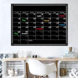 Calendario de la Pizarra magnética extraíble seco borra la tabla nevera pegatina