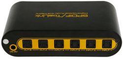 Spdif/Toslink 4X2 Matrice audio optique numérique avec télécommande