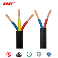 Koord van pvc van de Macht van de Kabel van de Kabel VDE het Flexibele h05vvh2-F Multicore