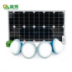 Sistema de energía solar para la casa de la iluminación y la carga de teléfono