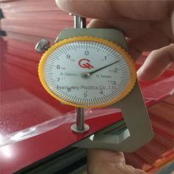 600 * 1200 mm Schwarzweiß-Laser und doppelfarbiges ABS-Blatt mit Drehfarben