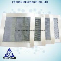 Anima A Nido D'Ape In Alluminio Con Telaio In Acciaio Inox Per Ventilatore Schermato