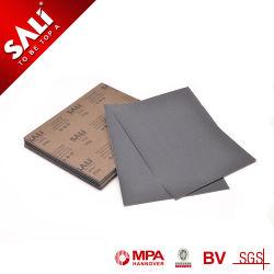 Tamanho Cusomized Grit P40-3000, carboneto de silício revestido papel abrasivo impermeável