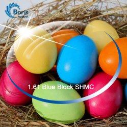 1.61 Bloc Bleu UV420 Shmc lentille optique