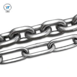 Catene in acciaio inox ad alta resistenza con maglie in metallo decorative