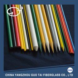 Colorido Haste sólidos de plástico reforçado com fibra de vidro e resistente a UV Stakes
